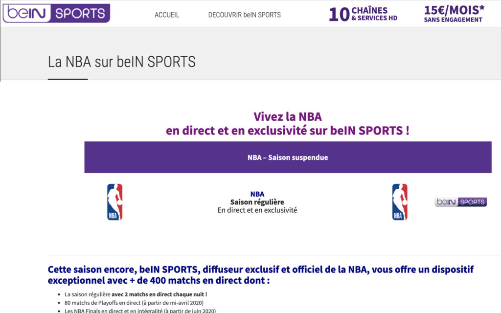 basket streaming being sport