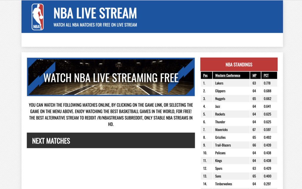 nba streaming