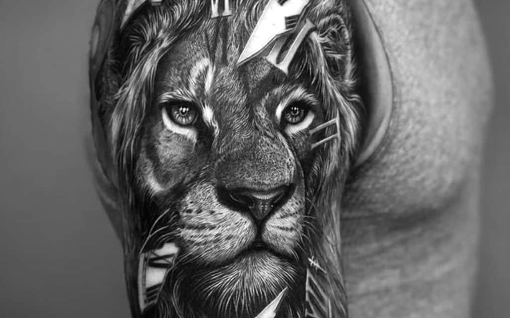 tatouage homme réaliste