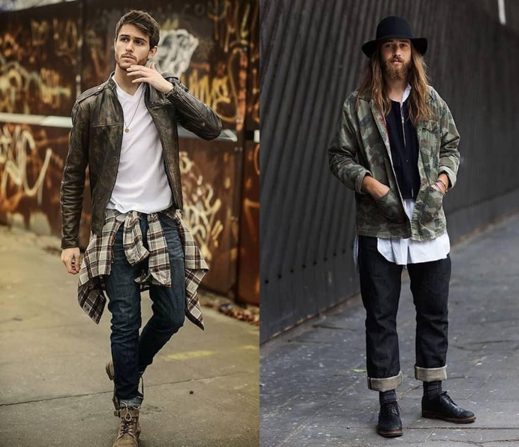 style grunge homme